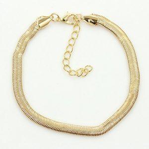 Cdet Bracelet de Cheville en Échelle de cheville fines chaîne en métal Anklet en argent pour femme avec chaînette Mode élégante Plage