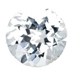 Pierre Précieuse Diamant SI1/SI2Clarté couleur Cycle vrac 5,1mm 0.518G/je et CT