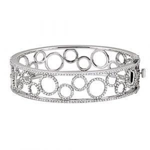 Or blanc 14ct rohdiamant, bracelet, 6, 7–charms jewelryWeb 8ct