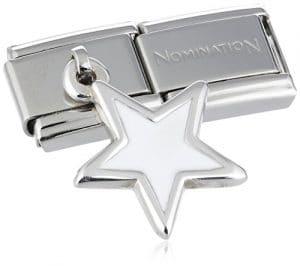 Nomination 031700/26 – Maillon pour bracelet composable Femme – Etoile – Acier Inoxydable