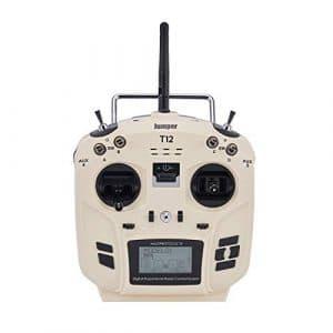 Émetteur Radio Jumper OpenTX 12ch avec Module RF multiprotocole JP4-en-1 (Couleur: Blanc)