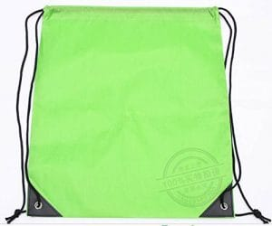 Mio. OO poche de tissu de polyester vert gazon * 1
