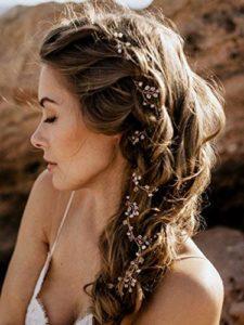 Guirlande à cheveux de mariage