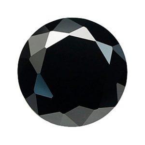 Quiges Femmes Mini Piece en Oxyde de Zirconium Noir