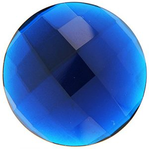 My imenso cristal quartz insignie Bleu 33mm 33–1287