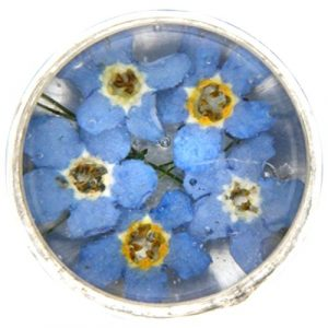 My imenso insignie Verre/Mini fleurs 14mm 14–1177