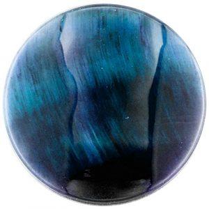 My imenso œil de tigre insignie Bleu 33mm 33–1313