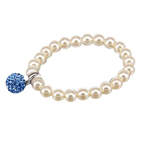 Impression 1Pcs Bracelets Bracelet de perles bracelets de loisir de mode accessoires de bijoux fille cadeau de Saint Valentin Bracelet réglable Bijoux Bracelet romantique