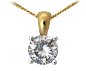 Naava Femme 18 carats (750/1000) Or jaune Diamant Colliers