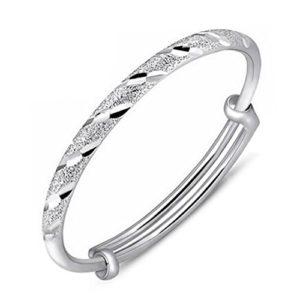 YXYP Impression 1Pcs Bracelets Bracelet d'argent avec pluie de météores Bracelet de mode accessoires de bijoux fille cadeau de Saint Valentin Bracelet réglable Bijoux Silver