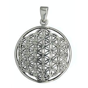 Fleur de vie intemporel Pendentif celtique Argent sterling 9254,5g poinçonné Beldiamo