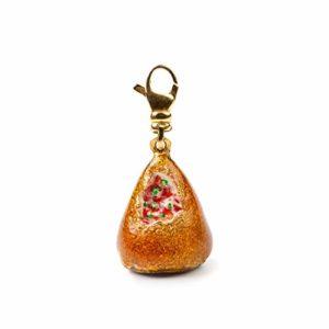 Isola Bella Charm pour femme en argent orange 20000365
