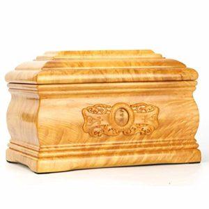 Xinyexinwang Urne de Cercueil de Cendres de crémation Urne de Cendres de crémation pour Adulte, de Haute qualité Phoebe nannan Bois Urne Cercueil Memorial pour (Capacité 350 LB)