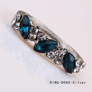 Belle Bague en Alliage Emerald Brillant Eclair de Diamant Pour Les Femmes