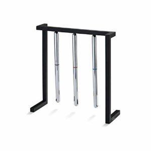 meixiang Décoration Minimaliste Créative, Support De Stylo Magnétique Suspendu, Balançoire De Boule De Table Noir
